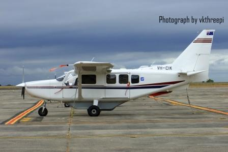 VH-CIK Side shot aircraft profile YMEN DSCF3147 compressed WEB